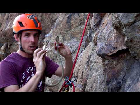 Rappelling With A Guide ATC And VT Prusik Backup