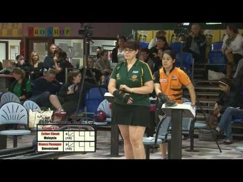 Melbourne Cup 2010 Womens Grand Final - Esther Cheah (MALAYSIA) V's Bianca Flanagan (QLD)