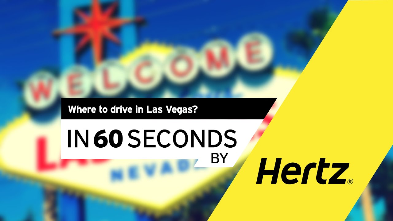 hertz in 60 seconds where to drive in las vegas youtube. Black Bedroom Furniture Sets. Home Design Ideas