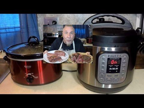 Instant Pot vs Crock Pot Brisket Wars