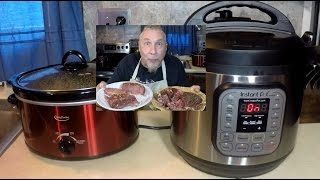 Instant Pot vs Crock Pot Brisket Wars