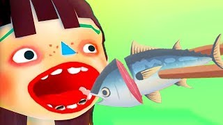 Fun Kitchen Cooking Kids Games - Toca Kitchen Sushi - Let's Get Cooking with Yummy Sushi, Sea Food