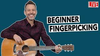 Fingerpicking Guitar Lessons: Beginner's Playbook - LIVE+Q&A!