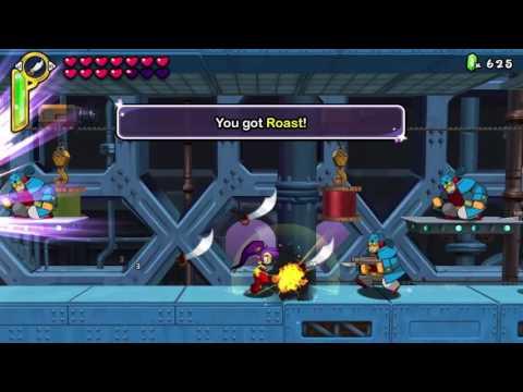 Shantae: HalfGenie Hero Cape Crustacean: All Item locations