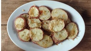 Quick And Delicious Parmesan Potato Slices