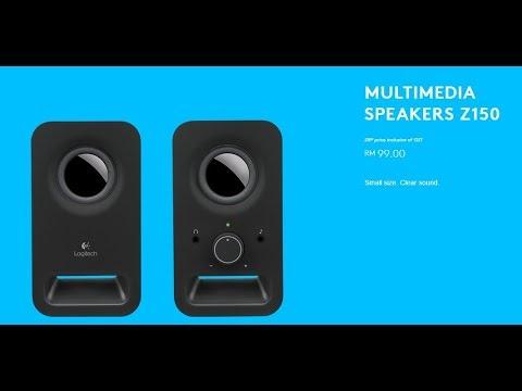 Компьютерные колонки LOGITECH Audio System 2.0 Z150 Black в Баку / Bakida