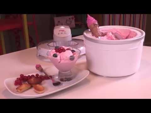 krups gvs1 ice cream maker doovi. Black Bedroom Furniture Sets. Home Design Ideas