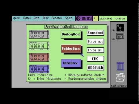C64 - Geos / Megapatch 3.0 Installation (German)