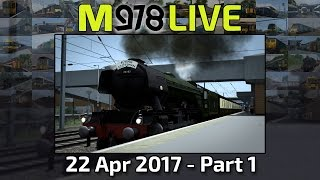 London to York! (Part 1) | Train Simulator 2017 | M978 Live