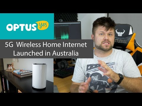 Optus Flicks The Switch On Early 5G Home Internet In Australia | Tech Man Pat