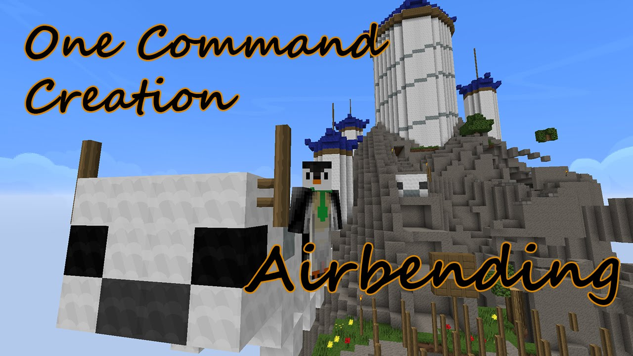 how to use airbending in minecraft