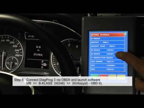 How to program MB 2013 models with CanGateway EASY & OBDII and DiagProg 3 DP3