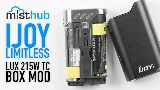 iJoy Limitless LUX 215W TC MOD Video