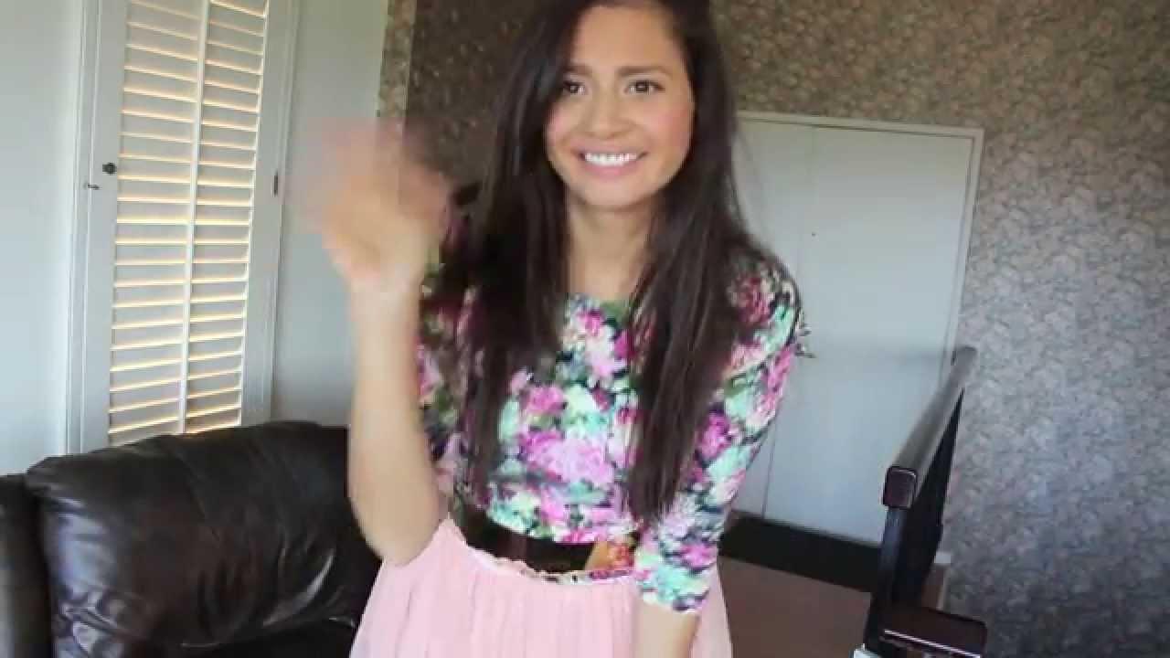 a4fee3482a Outfit Blusa Flores Falda tul  Sammydress - YouTube