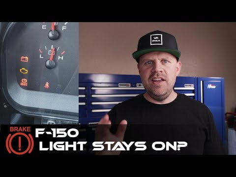 How To Repair The RED WARNING Brake Light Ford Truck