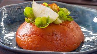 Слоеный салат с красной рыбой. Меню на Новый год и праздничный стол 2021. Рыбный салат.