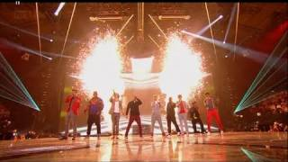 Repeat youtube video OMG it's JLS vs One Direction - The X Factor 2011 Live Final - itv.com/xfactor