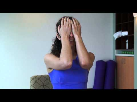 Yoga for the Eyes 1 Minute Eye Strain Relief Exercise