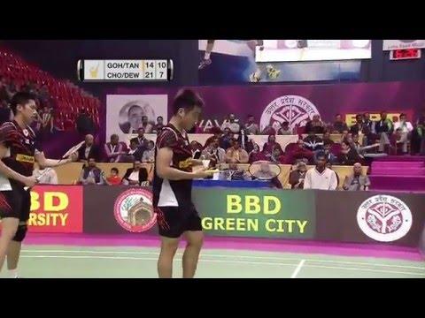 Syed Modi Int'l Badminton Championships 2016 | F M4-MD | Goh/Tan vs Chopra/Dew