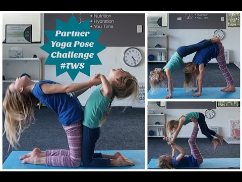 partner yoga pose challenge part 2 the witherington