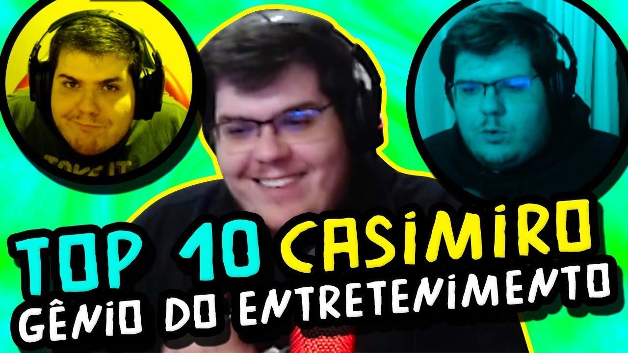 10 momentos que provam que Casimiro é o rei do entretenimento