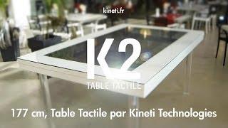 K2 177 cm, Table Tactile par Kineti Technologies Thumbnail
