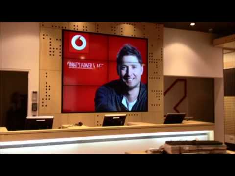 The Video Wall Solution & Vodafone