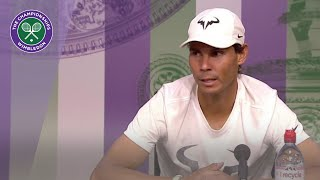 Rafael Nadal Quarter-Final Press Conference Wimbledon 2019