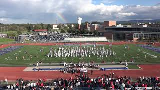 "Shippensburg University ""Red Raider"" Marching Band Post-Game Show 10.20.18"
