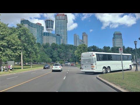 Driving Downtown - Niagara Falls Canada