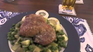 Meal Vlogs: July 30, 2014 - Dijon Roasted Turkey W/potatoes & Peas