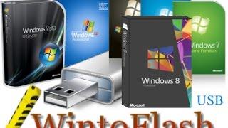 Cara Membuat Bootable Flashdisk Windows 7,8,10 Dengan Wintoflash Terbaru
