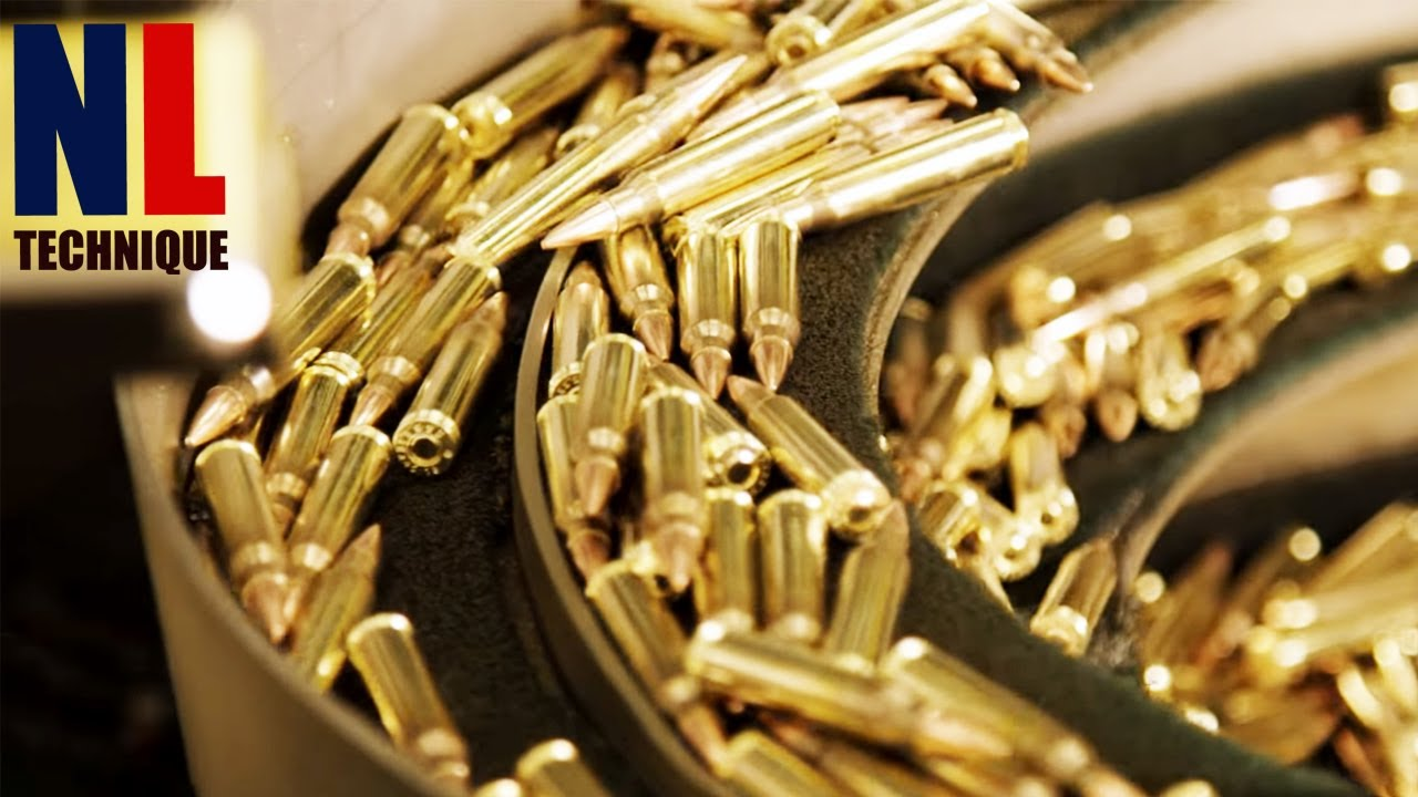 Modern Ammunition Manufacturing Process - Inside Bullets Factory