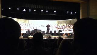 2013 Virginia All-State SATB Choir - Bright Morning Stars