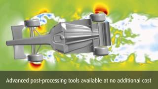 HyperWorks Virtual Wind Tunnel   Виртуальная аэродинамическая труба
