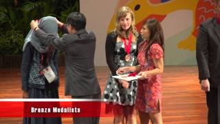 IBO 2012 Singapore - Closing Ceremony Highlights