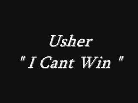 Usher - I Cant Win
