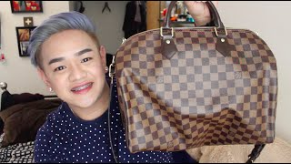Louis Vuitton | Its made in France + What I carry inside