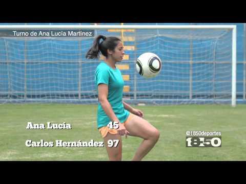 El Reto: Ana Lucía Martínez vs Carlos Hernández