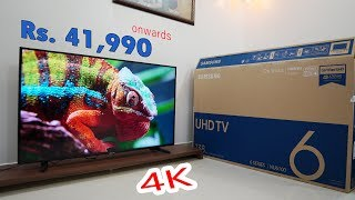 Samsung Smart 4K TV Rs 41 990 WOW Certified UHD NU6100 6 series Live Cast HDR