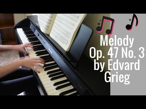 Melody, Op. 47 No. 3 from Edvard Grieg's Lyric Pieces mp3