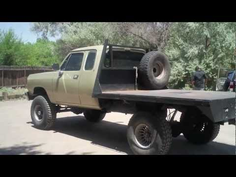 Dodge W250 Cummins 4 by 4 for Sale Call Dave 505-506-9497 - YouTube