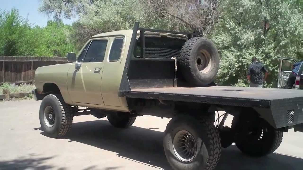 Dodge W250 Cummins 4 by 4 for Sale Call Dave 505-506-9497 ...