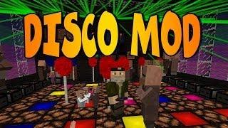 DISCO DJ MOD | PARTY MOD | Minecraft Mod Review