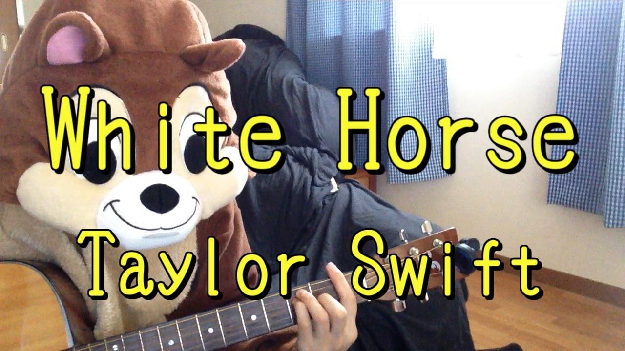 White Horsetaylor Swiftguitar Cords Youtube