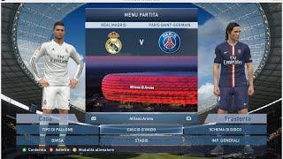 #BetMatch Real Madrid  vs Paris Saint-Germain HD [Pes15 pc full gameplay]
