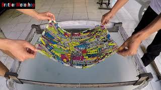 Water Printing Tutup Filter Honda Beat Esp Motif Bomb Smile (Hydrographic)