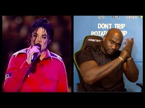 Michael Jackson - Gone Too Soon Live At 1992 - Bill Clinton's Inaugural Gala - REACTION