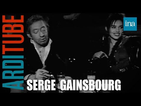 Blind test Serge Gainsbourg et Béatrice Dalle  Archive INA