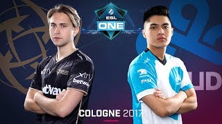 CS:GO - NiP vs. Cloud9 [Cache] - Swiss Round 1 - ESL One Cologne 2017